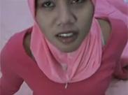 Cumshot auf arabisches Girl