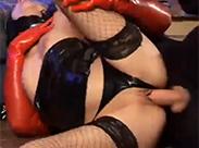 Heißer Fetisch Sex in Latex