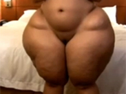 Monströs geile Ebony Schlampe