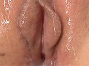 Zuckende nasse Asiafotze