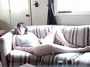 Privat beim Masturbieren beobachtet