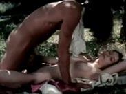 Geiler Retro Sex im Freien