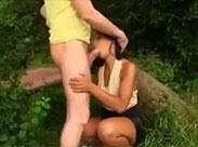 Outdoor Sex im Park