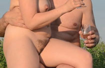 Nackt in der Natur